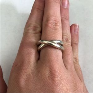Tiffany & Co. Twisted Silver Ring